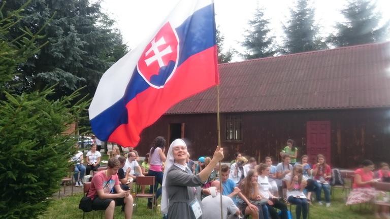 ŚDM Pielgrzymka Słowaków do Matki Bożej w Woli Gułowskiej