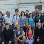 Pielgrzymi z Białorusi, którzy przebywali w naszej parafii