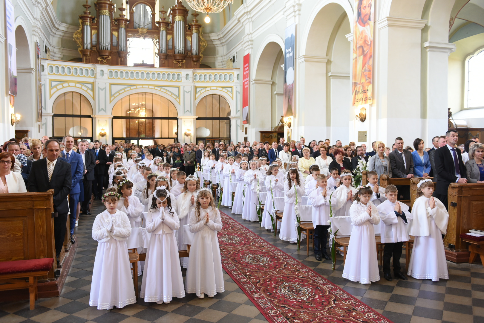 Uroczystość Pierwszej Komuni św.