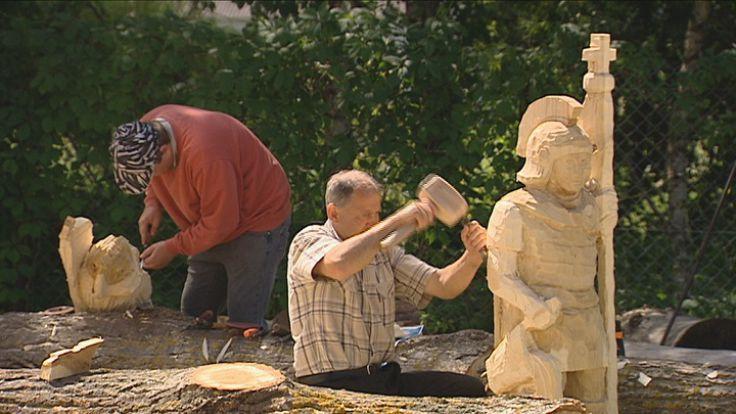 Plener Rzeźbiarski w Woli Gułowskiej
