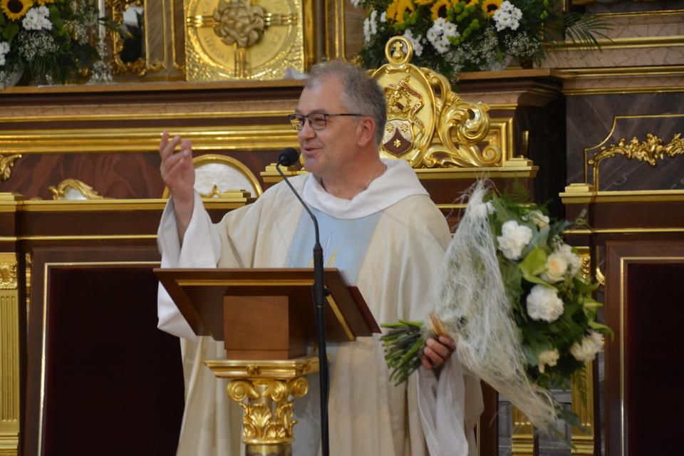 Odpust Wniebowzięcia i pożegnanie o. Andrzeja